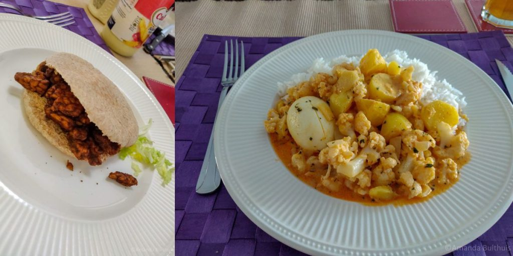 Vega shoarma en curry