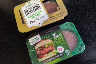Beyond burger vs. Incredible Burger