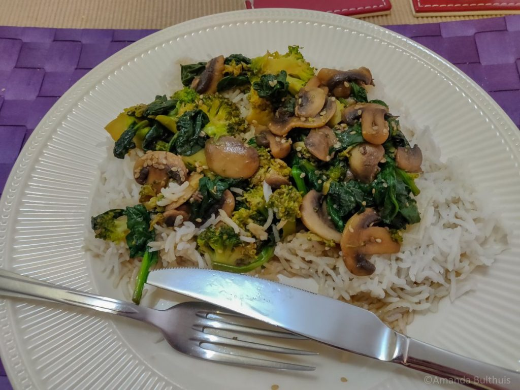 Japanse Teriyaki - Vegetarisch