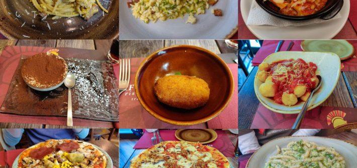 Vegan Italian Food Rifugio Romano, Rome