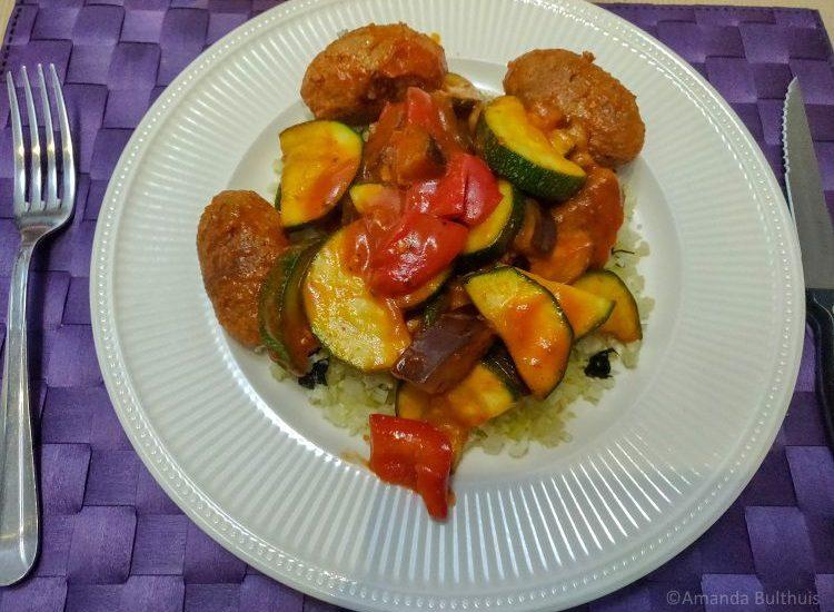 Griekse kofta (vegetarisch)