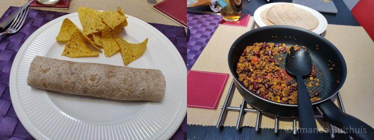 Mexicaanse burritos