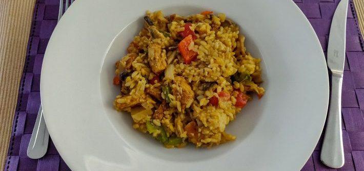 Vegetarische jambalaya