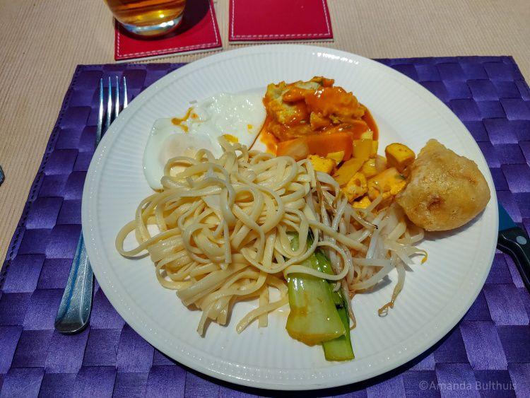 Chinees - Vegetarische rijsttafel