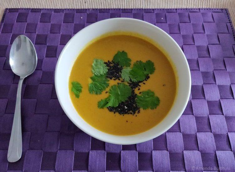 Soep met groente