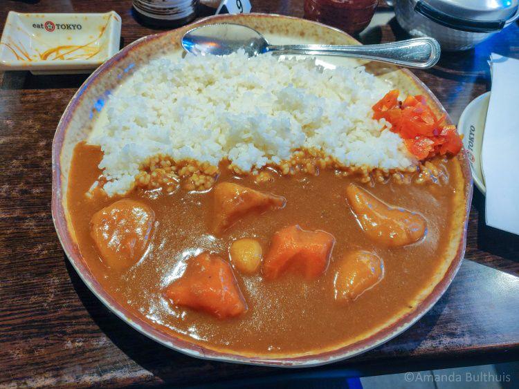Japanse curry Eat Tokyo Düsseldorf