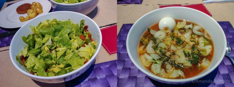 Salade en ramen