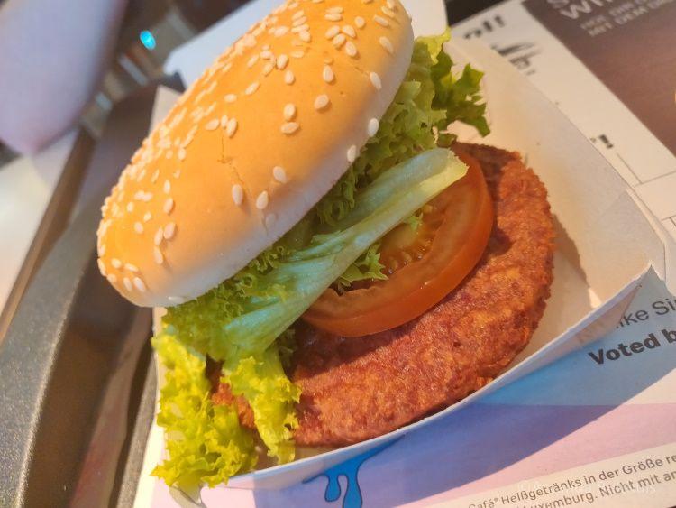 Big Vegan Mc Donalds Düsseldorf