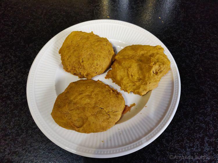 Pompoenkoekjes met pumpkin spice kruiden