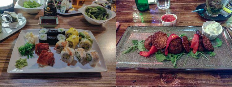 Uit eten Kyoto en Plein 4 Eindhoven
