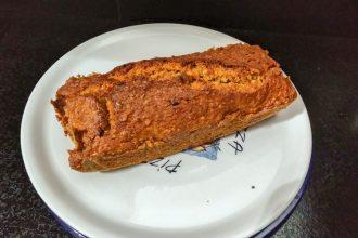 Carrot cake banana bread