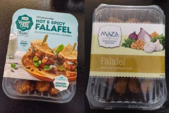 Falafel supermarkt gezond