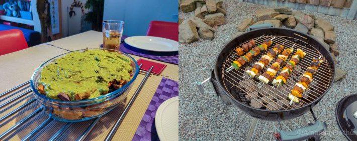 Mexicaanse loaded fries en bbq