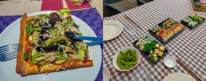 PIzza en sushi - week 16 -2020