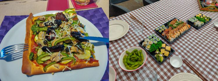 PIzza en sushi - week 16 -2020