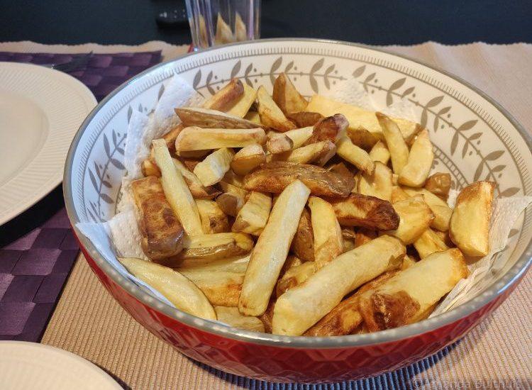 Zelfgemaakte friet uit de Airfryer