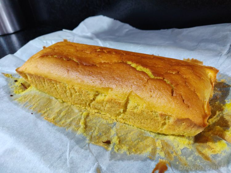 Vegan sinaasappelcake
