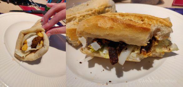 Pita's en stokbrood shoarma