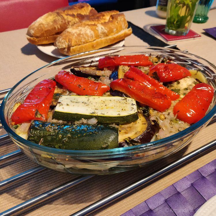 Griekse groenteschotel