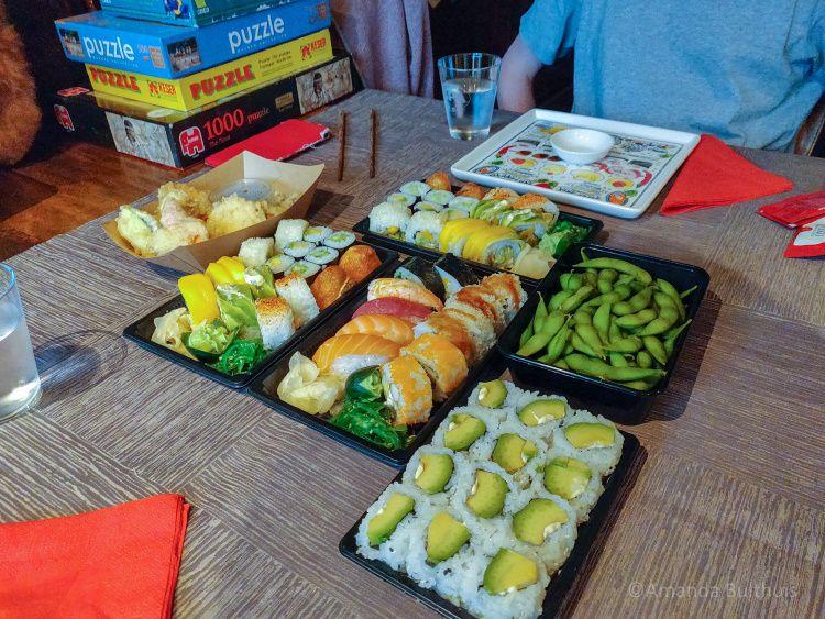Sushi afhalen bij Kyoto eindhoven