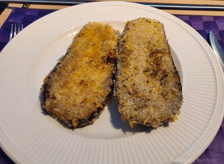 Aubergineschnitzels
