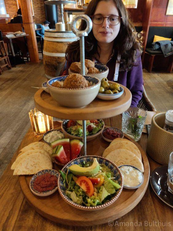 Vegan lunchplank Sintjacobscafé Vlissingen