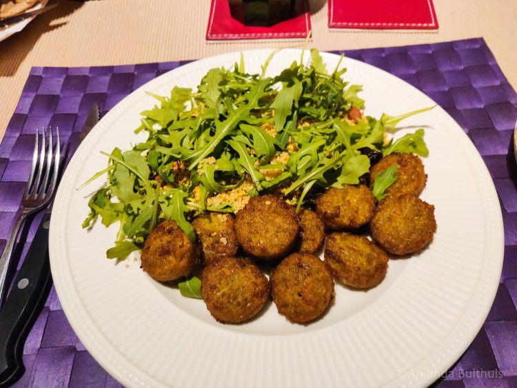 Couscous en falafel