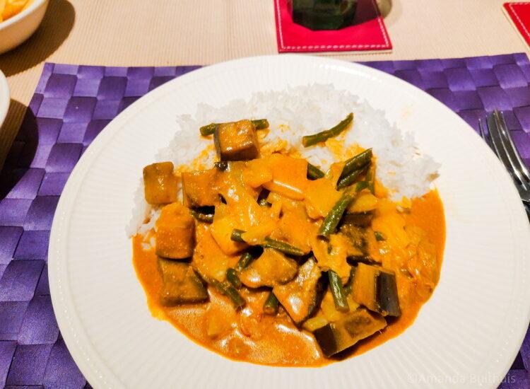Maleisische curry toko