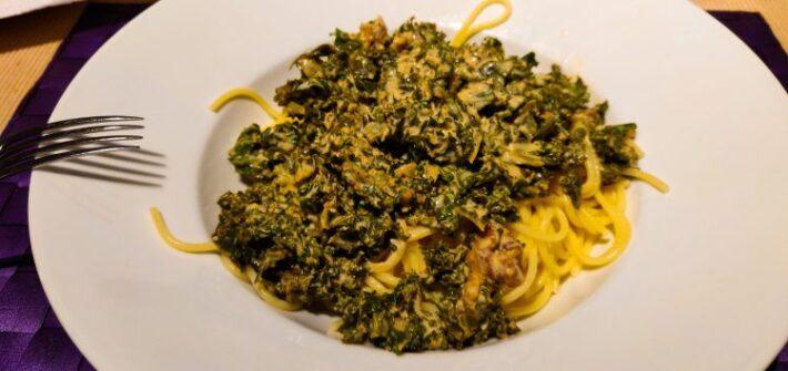 Boerenkool spaghetti