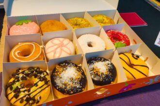 Vegan donuts van Dunkin' Donuts