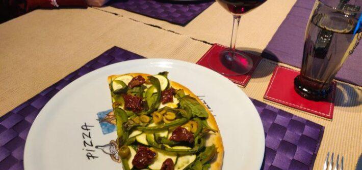 Vegan groentepizza week 13 -2021