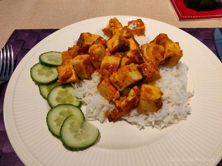 Zoet-zure tofu