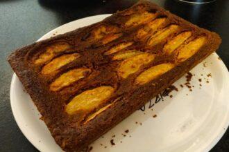Vegan appelplaatcake
