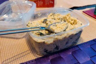 Vegan tonijnsalade met kikkererwten