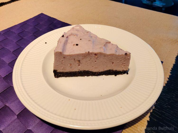 Frambozenpudding taart