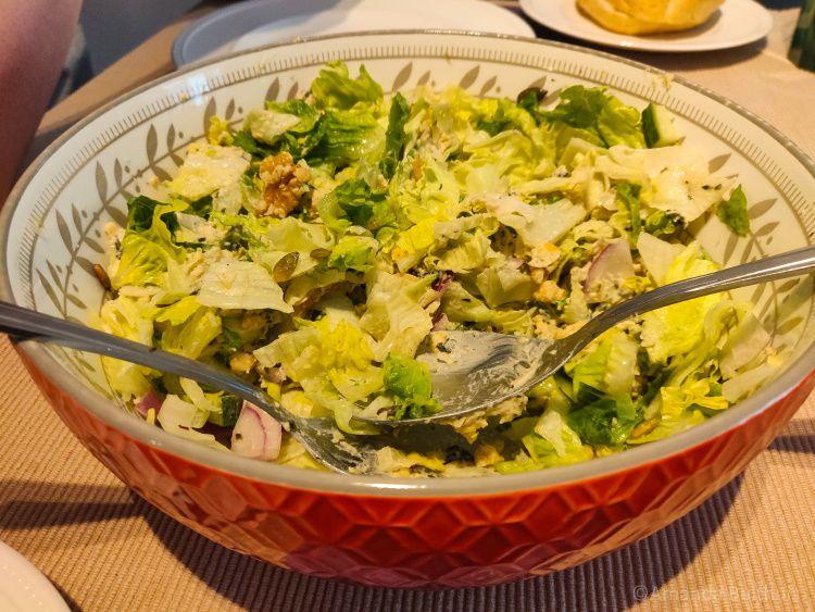 Sla met vegan tonijnsalade