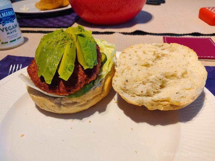 Vegaburgers van Sustafoods