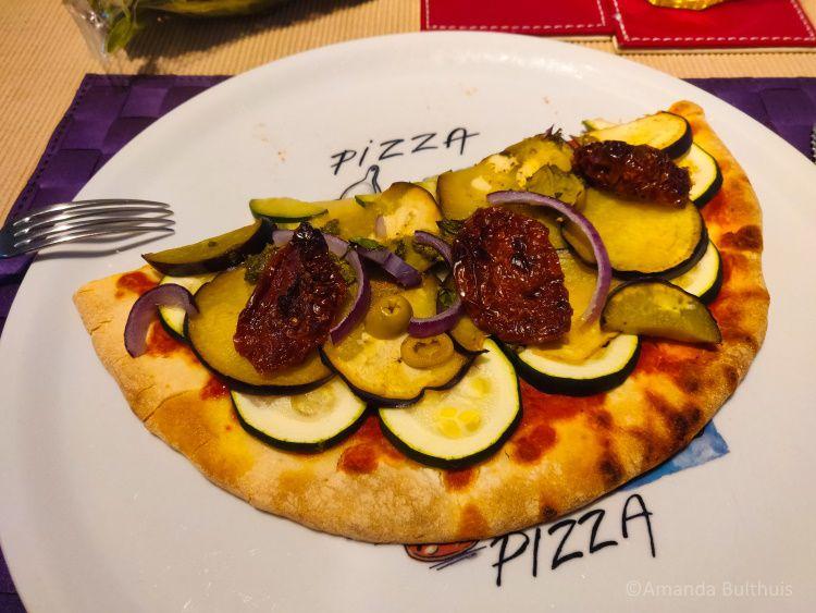Pizza - groente - 09-2021