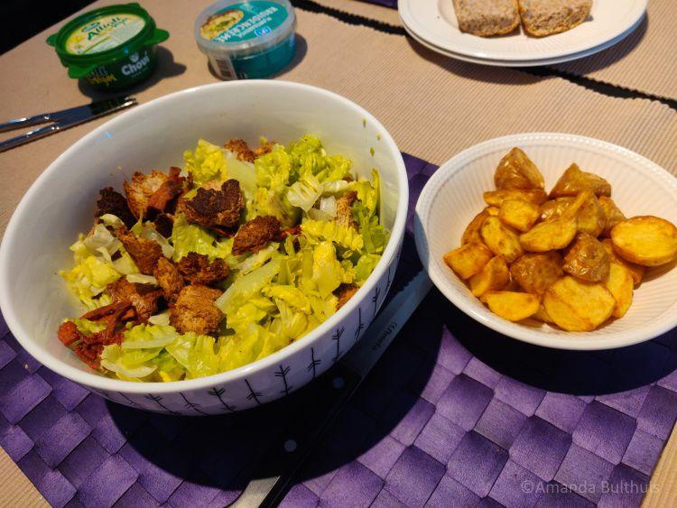 Salade met krieltjes - week 36 -2021