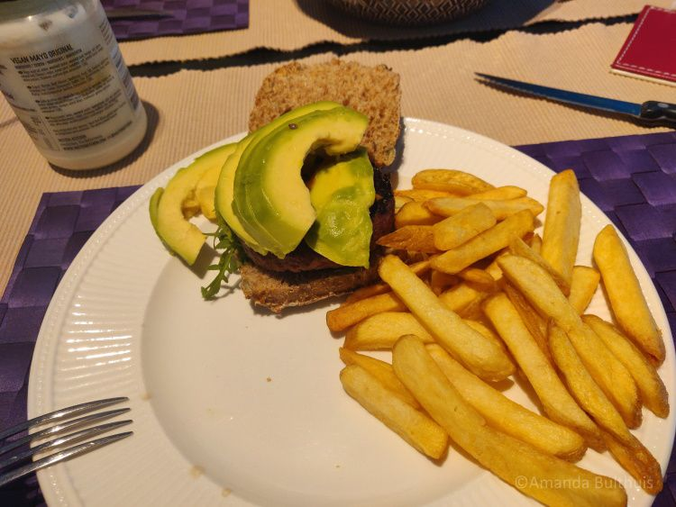 Vegan burger Greenforce